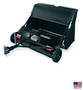 Lawn Sweeper Atv Utv Lawn And Garden Tractor Golf Cart - Tow Behind - 42 - 18 Cf