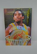 1997-98 Kobe Bryant Autograph Collectors Edge Sp Red Ink Auto On Card. Rare