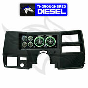 Autometer Invision Lcd Dash Kit For 73-87 Chevy And Gmc Full Size Truck Direct Fit