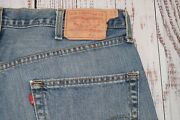 Rare Vtg 2005 501xx Mens Jeans 38 X 32 Blank R Tab Red Button Fly