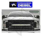 T-rex 2017-2019 Ford Super Duty Stealth Torch Grille W/ 30 Curved Led Light Bar