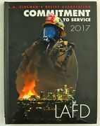Los Angeles Fire Department Lafd Ca California 2017 History Year Book