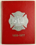 Detroit Fire Department Michigan 1977 Firefighter History Year Book