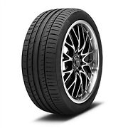 4 New 255/45r20xl Continental Contisportcontact 5 Tire 2554520