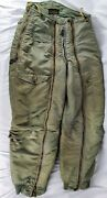 Usaf Wwii Extreme Cold Weather Flying Pants Southern Athletic Co. D-1b Size 30