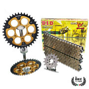 Did Chain Set Ducati Monster S2r 1000 Gold Chain 525 Vx Extra Reinforced 4/41
