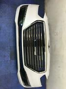 2017 - 2019 Genesis G90 Front Bumper Assembly W/camera Marble White Pearl Yw6
