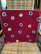 Susan Branch Design Hand Hooked 100 Wool Pillow Cover