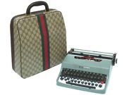 Olivetti Typewriter Lettera 32 Green Retro Sherry Made In Italy F/s Japan