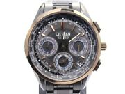Citizen Exceed Eco-drive F900-t022707 Chronograph Day/date Menand039s Watch Wl33316