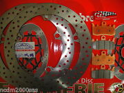 Set 2 Discs Brembo + Pads Front Bmw R 1200 Gs Year From 2013 In Then 7d6