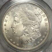 1880-cc Morgan Dollar Rev. Of And03979 Choice Uncirculated Pcgs Ms-64 Old Holder