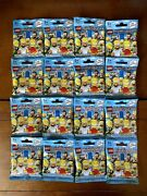 Lego The Simpsons Minifigures Series 1 Complete Set Of 16 Sealed Packages 71005