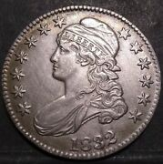 1832 Capped Bust Half Dollar Au Almost Uncirculated Nice Coin Nice Price