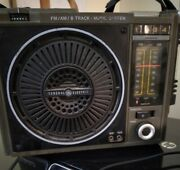 General Electric Am-fm Model 3-5507b 8 Track Tape Player - 8 Track Needs Fixed-