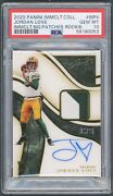 2020 Immaculate Collection Rookie Signature Patches Jordan Love /75 Psa 10 Pop 1