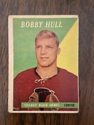 1958-59 Topps 66 Bobby Hull Rookie Card