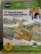 Vtech Touch And Learn Activity Desk Deluxe Expansion Pack- Numbers And Shapes