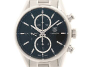 Tag Heuer Carrera Automatic Car2110.ba0720 Chronograph Date Menand039s Watch Wl33406
