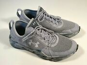 Under Armour Micro G Kilchis Gray Mesh Fishing Shoes Men Size 8