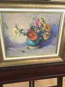 Mabel May Woodward American, 1896-1943 Oil On Board. Signed With Provenance