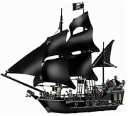 Lego 4184 Piratesthe Black Pearl 100 Complete W/orig Inst And Minis Pristine