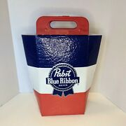 Awesome Unique Koolit Pabst Blue Ribbon Insulated Tote Cooler Holds 12 Cans Euc