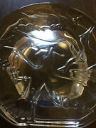 Orrefors Paperweight Solid 3d Birds - Signed Excellent Condition