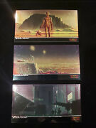 Star Wars Topps A New Hope Widevision Chrome Cards Chase Complete Set Of 10