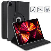 Stylish Rotating Pu Leather Smart Case Cover For Apple Ipad Air 1 2 3 10.5 11