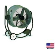 Drum Fan Commercial - Dolly Mounted - 30 - 1/2 Hp - 115v - 1 Ph - 7900 Cfm G