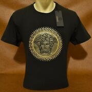 Brand New With Tags Menand039s Versace T-shirt Size M To 3xl