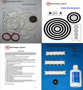 1972 Gottlieb World Series Pinball Tune-up Kit - Includes Rubber Ring Kit