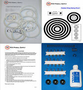 1977 Sears/briarwood Cosmic Pinball Tune-up Kit - Includes Rubber Rings