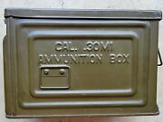 Ww2 30cal Ammo Can Reeves Flaming Ball