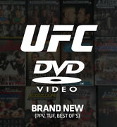 Ufc Official Home Video Dvds And Blu-rays Ppv Best Of New Sealed Region 1