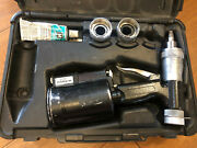 Uponor Wirsbo A5204 Air Expander Propex Tool With 3 Heads