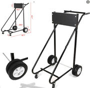 315 Lbs Motor Stand Carrier Cart Outboard Boat Dolly Storage Pro Heavy Duty - Us