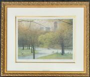 New York Central Park Harold Altman Limited Edition Lithograph Signed