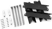 Gas Grill Repair Kit Replacement Parts Burner Heat Plates For Bbq Pro Kenmore