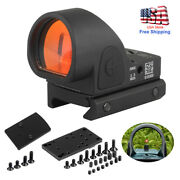 Holographic Reflex 2.5 Moa Red Dot Sight W/picatinny Weaver Mount For Glock 20mm