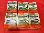 Case Of 6 Engine Oil Filter Fram Tough Guard Tg3675 For Chevrolet Cadillac Gmc