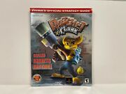 Ratchet And Clank W/ Poster Prima Official Guide Invt