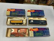 Roundhouse Ho Scale Box / Coach Lot Of 3