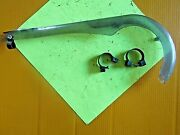 Used 1986 Huffy Nitro Bmx Bicycle Chain Guard And Clamps For Parts Or Repair