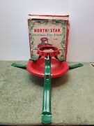 Vintage North Star Christmas Tree Stand In Original Box