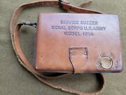 Ww1 Service Buzzer Us Army Signal Corps. Model 1914 Telegraph Key Excellent