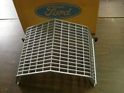 Nos Oem Ford 1971 Galaxie 500 Argent Painted Center Grille Custom Police Car