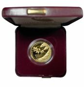 End Of Wwii 75th Anniversary 25 Us Mint Proof 1/2 Oz 24kt Gold Coin With Ogp And