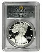 1986-s Pcgs Pr70dcam American Silver Eagle Legacy Collection Magnum Opus